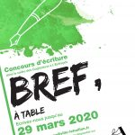 Bref, à table